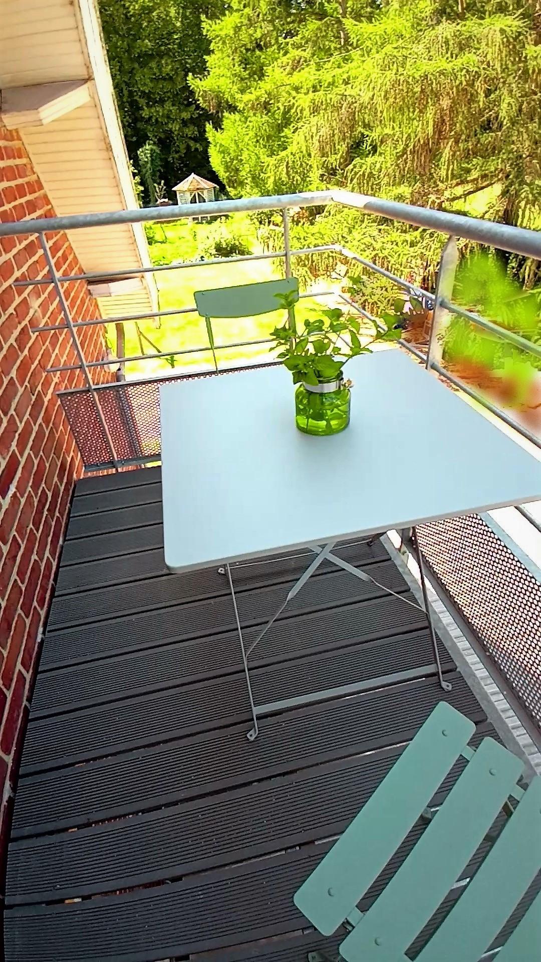 balcon meublé